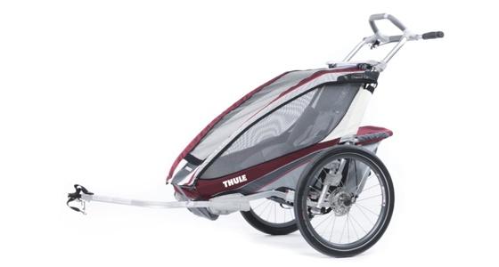 ac4eaebe004 Lastekäru Thule Chariot CX1 (Cycle), Burgundy